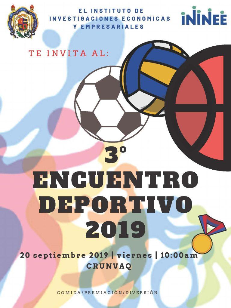 3er Encuentro Deportivo