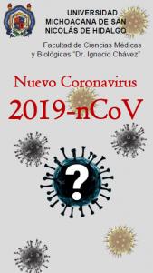 portada de triptico prevención corona virus
